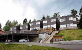 Viie majaga elementmajade kompleks